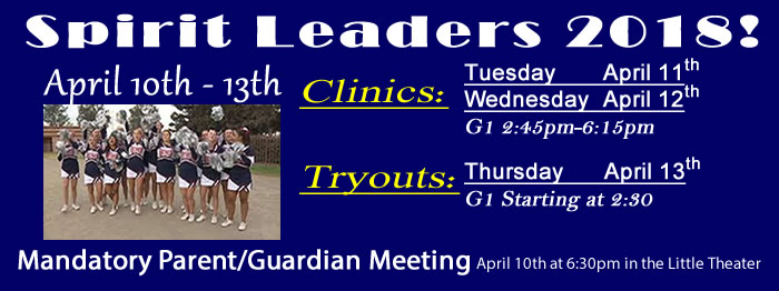 Beyer Cheer Tryouts